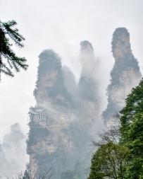 张家界雨雾