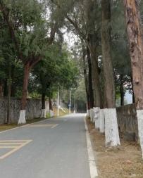 九华山穿越东圳水库